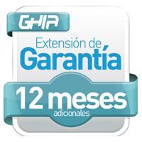 EXT. DE GARANTIA 12 MESES ADICIONALES EN PCGHIA-2379 GHIA PCGHIA-2379A