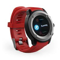 GHIA SMART WATCH DRACO  / 1.3 TOUCH /  HEART RATE /  BT /  GPS / GAC-072  /  COLOR ROJO GHIA GAC-072