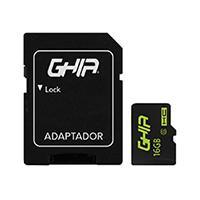MEMORIA GHIA 16GB TIPO MICRO SD CLASE 6 CON ADAPTADOR