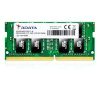 MEMORIA ADATA SODIMM DDR4 16GB PC4-19200 2400MHZ CL15 260PIN 1.2V LAPTOP ADATA AD4S2400316G17-S