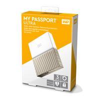 DISCO DURO EXTERNOERNO PORTATIL 3TB WD MY PASSPORT ULTRA BLANCO-DORADO/METALICO/2.5/USB3.0/COPIA LOCAL/ENCRIPTACION/WIN