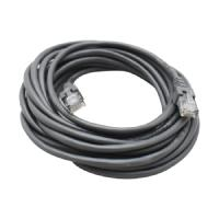 CABLE DE RED GHIA 5 MTS 15 PIES PATCH CORD RJ45 CAT 5E UTP GRIS