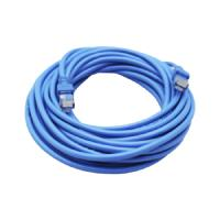 CABLE DE RED GHIA 7.5 MTS 22.5 PIES PATCH CORD RJ45 CAT 5E UTP AZUL