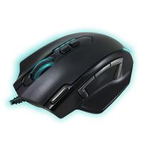 MOUSE GAMER LASER CON 11 BOTONES PROGRAMABLES Y PESO AJUSTABLE VORTRED PERFECT CHOICE DOMINION PERFE
