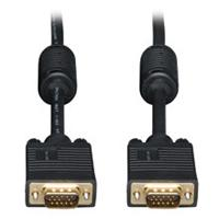 CABLE VGA COAXIAL TRIPP-LITE P502-050 DE ALTA RESOLUCIN PARA MONITOR CON CONECTOR HD15 M/M 2048 X 1536 1080P 15.24 M 50 PIES