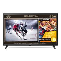 TELEVISION SUPER SIGN PARA SEÑALIZACION DIGITAL LG; 49 FULL HD, IPS, 400 NITS 16/7, WI-FI BUILT IN; HDMI (X2) USB, RF, RS-232, RGB IN, RJ45, BOCINA 10