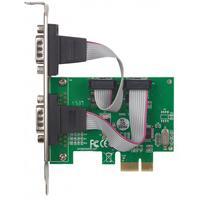TARJETA SERIAL PCI EXPRESS DOS PUERTOS DB9, PARA INSTALACION EN BUSES PCI EXPRESS X1, X4, X8 Y X16 M