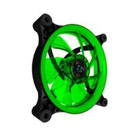 VENTILADOR EAGLE WARRIOR GAMING AURORA PARA GABINETE 12 CM / LED / VERDE EAGLE WARRIOR ACLFAURORA03E