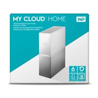 DD EXT ETHERNET 6TB WD MY CLOUD HOME 3.5 / 1USB3.0 EXPANSION / COPIA SEG AUTOM / CONTRASEÑA / WIN-MA