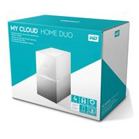 DD EXT ETHERNET 4TB WD MY CLOUD HOME DUO 3.5 / 2USB3.0 EXP / RAID / COPIA SEG AUTOM / CONTRASEÑA / W