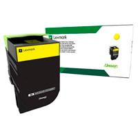TONER COLOR AMARILLO RENDIMIENTO ESTANDAR PARA CX417DE CS417DN /2.300 P / HASTA 5 DE COBERTURA.