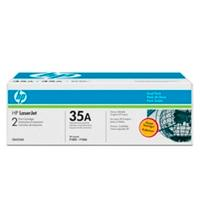 DUAL PACK TONER HP (CB435AD)  NEGRO 35A, RENDIMIENTO 2 X 1,500 PAG. (2  / C) HP CB435AD