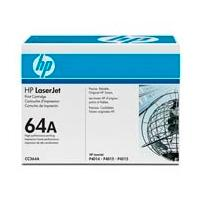 TONER HP CC364A NEGRO P/LASERJET 64A RENDIMIENTO 10000 PAG.