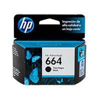 CARTUCHO DE TINTA HP 664 NEGRO HASTA 120 PAGINAS F6V29AL