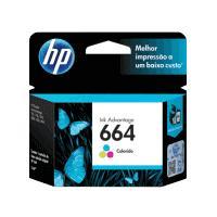 CARTUCHO DE TINTA HP 664 TRICOLOR HASTA 100 PAGINAS F6V28AL