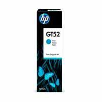BOTELLA TINTA CONTINUA HP GT52 CIAN 70 ML HASTA 8000 PAGINAS M0H54AL HP M0H54AL