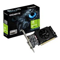 T. DE VIDEO GIGABYTE PCIE X8 2.0 NVIDIA GEFORCE GT 710 / 2GB / DDR5 / 954MHZ / 64BIT /  / DVIHDMI /