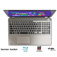SATELLITE CORE I7-4710HQ 2.5GH/8GB/1TB/RADEON 2GB/15.6 TOUCH/TEC NUM/HARMAN K/BLU-RAY/SENSOR 3D/W8.1
