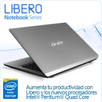 GHIA LAPTOP LIBERO PENTIUM QC N3540 2.16-2.66GHZ/4GB/500GB/LM/14/WIFI+BT/WEBCAM/W8.1BING64