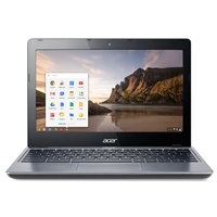 ACER CHROMEBOOK C720-C875 CELERON DUAL 2957U 1.40GHZ / 2GB / 16GBSSD / 11.6 / BT / CHROME