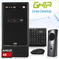GHIA DESKTOP AMD A6-6400K DUAL CORE 3.9GHZ-4.1GHZ/4GB/1TB/DVD+RW/LM21-1/MT-N