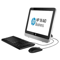 HP AIO 18 BUSINESS INTEL QUAD CORE J2900 2.67GHZ/ 500GB / 4GB / DVD-RW / WINDOWS 8.1 64 / 1-1-1
