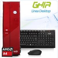 GHIA DESKTOP APU A4 6300 X2 3.7 GHZ/2GB/500GB//LM6-1/SFF-R