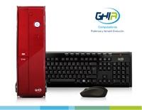 GHIA DESKTOP CELERON QUAD CORE J1900 2.4 GHZ/2GB/500GB/DVD+RW/LM6-1/SFF-ROJO/W8.1BING