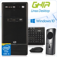 GHIA DESKTOP CORE I5 4460 3.2 GHZ/8GB/2TB/DVD+RW/LM21-1/MT-N/W10HM SL