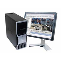 REMOTE MONITORING WORKSTATION FOR VIEWING ON UP TO FOUR MONITORS