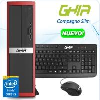 GHIA COMPAGNO SLIM CORE I5 4460 3.2 GHZ/4GB/1TB/DVD+RW/LM/SFF-R/W10SL