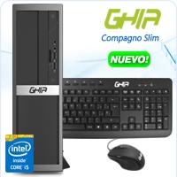 GHIA COMPAGNO SLIM CORE I5 4460 3.2 GHZ/8GB/1TB/DVD+RW/LM/SFF-N/W10PRO