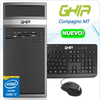 GHIA COMPAGNO MT CORE I7 4790 3.6 GHZ/8GB/1TB/DVD+RW/LM33-1/MT-N