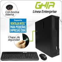 GHIA MAGNO CORE I5 6500 3.2 GHZ/8GB/128+500GB/DVD+RW/SFF/W10PRO/SBA