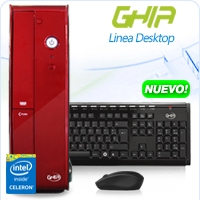 GHIA DESKTOP CELERON QUAD CORE N3150 1.6-2.08 GHZ/4GB/500GB/DVD+RW/LM6-1/SFF-R