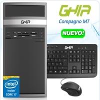 GHIA COMPAGNO MT CORE I7 4790 3.6 GHZ/8GB/1TB/DVD+RW/LM33-1/MT-N/W10PRO