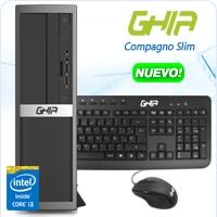 GHIA COMPAGNO SLIM / INTEL CORE I3 6100 DUAL CORE 3.70 GHZ / 4 GB / 1 TB / SFF-N / WINDOWS 10 HOME