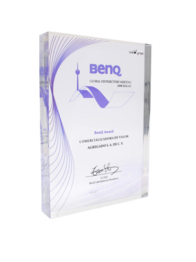 BenQ Reconocimiento 'Global Distribuitors Meeting'