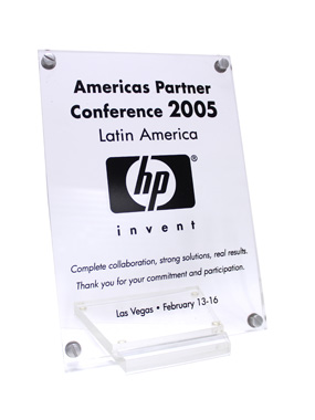 Reconocimiento HP 'Complete collaboration, strong solutions, real results'